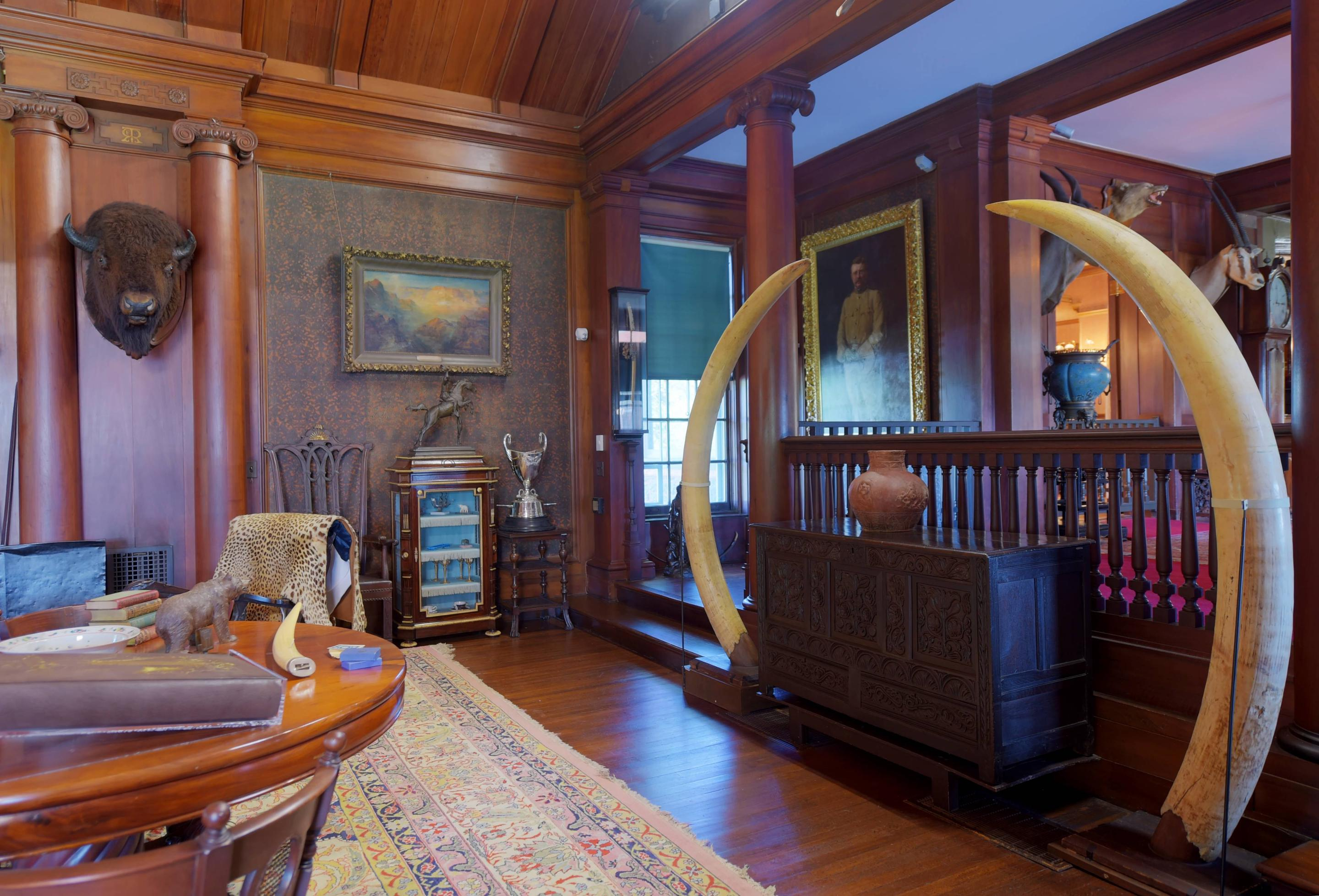 North Room of Sagamore Hill