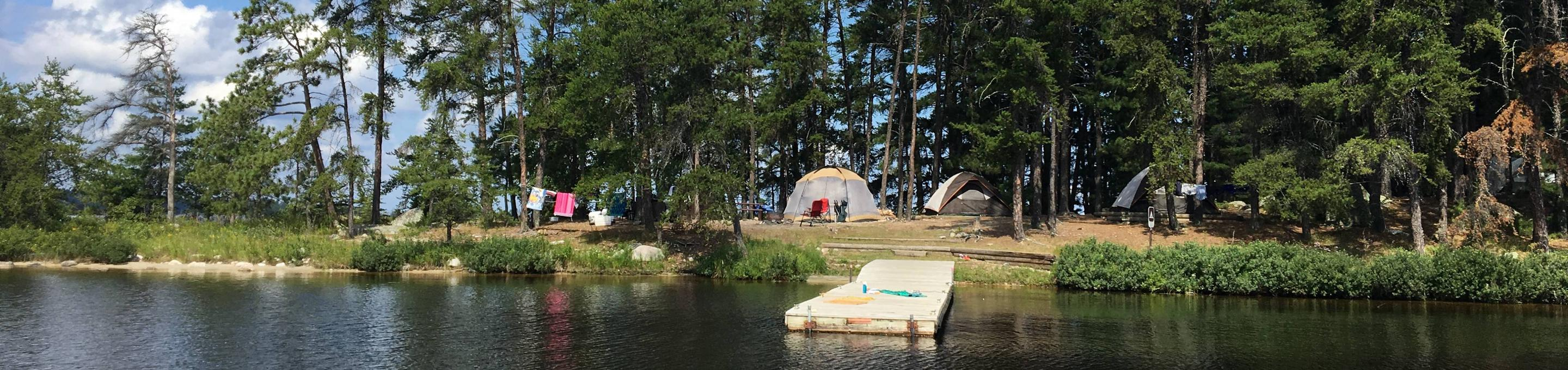 R27 - Virgin Island SouthR27 - Virgin Island South campsite on Rainy Lake