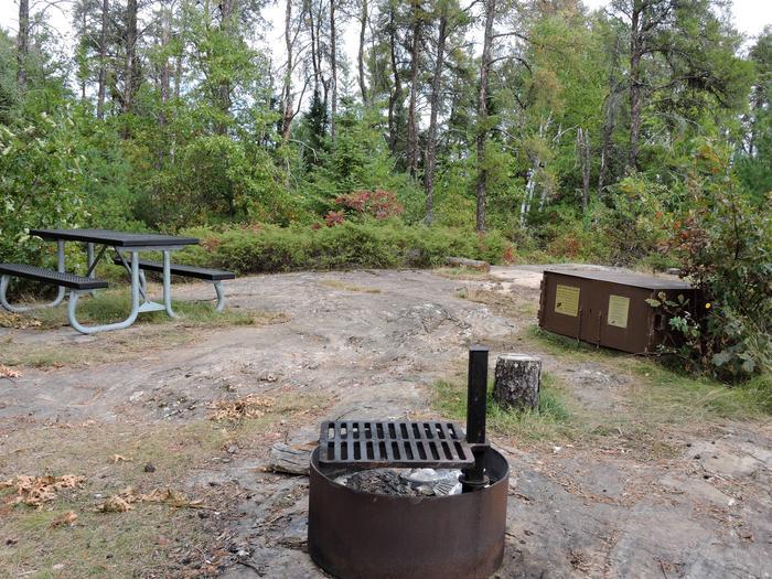 R49 - Soboleski Bay SouthView of campsite