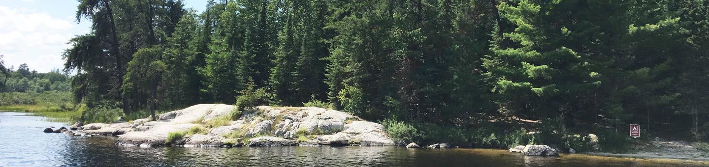 R54 - Beaver LodgeR54 - Beaver Lodge campsite on Rainy Lake