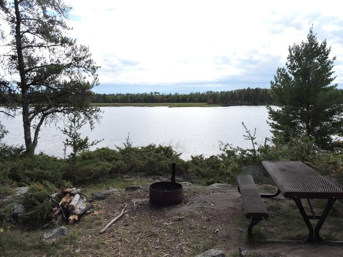 R55 - Jack Pine BenchView looking out from campsite