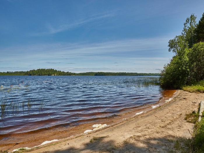 Echo Lake campground beachBeach