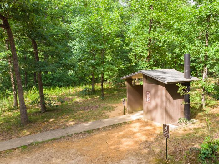 White Rock Mountain, Campground Vault Toilet