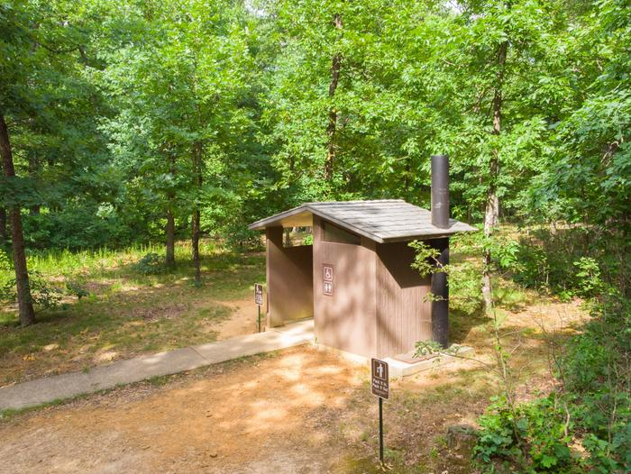 White Rock Mountain, Vault ToiletVault toilet located in the center of the campground. Cleaned daily!