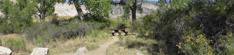 Site 77Pull-through parking area