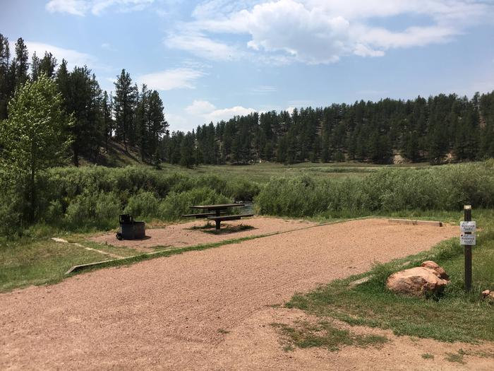 Happy Meadows Campground Site #1