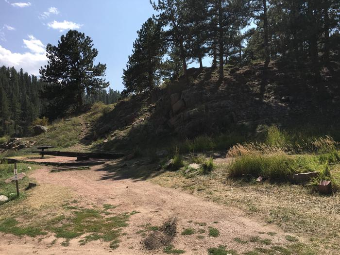 Springer Gulch Campground Site #1