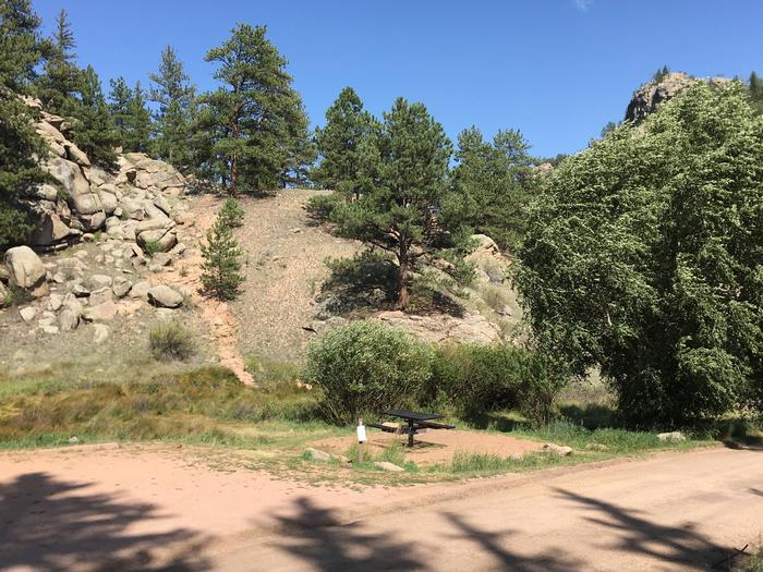 Springer Gulch Campground Site #2 - shared parking padSpringer Gulch Campground Site #2