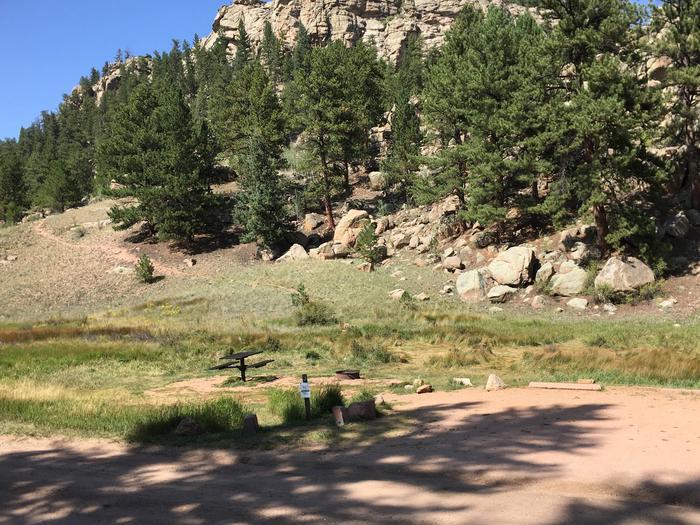 Springer Gulch Campground Site #3 - shared parking padSpringer Gulch Campground Site #3