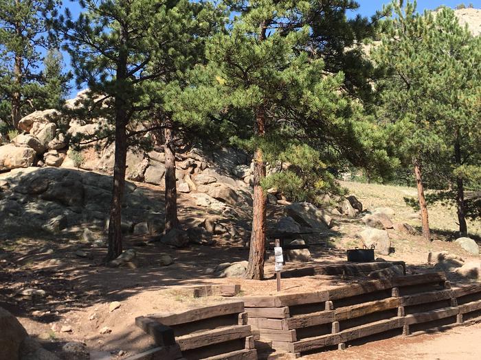 Springer Gulch Campground Site #8