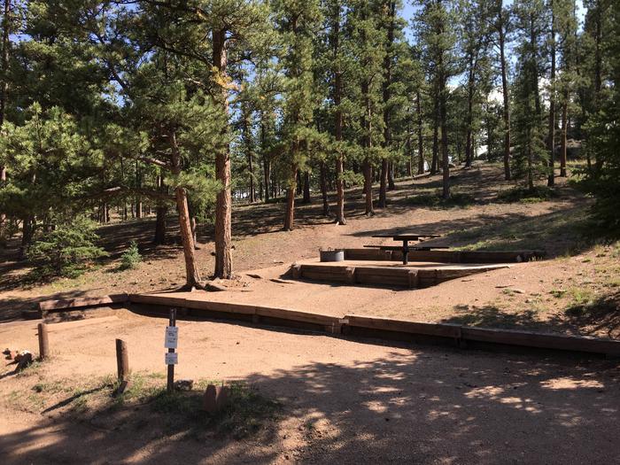 Springer Gulch Campground Site #11