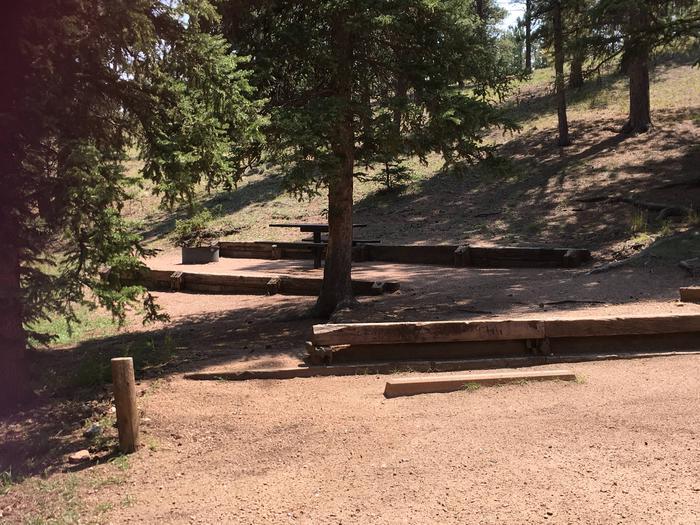 Springer Gulch Campground Site #14 - shared parking padSpringer Gulch Campground Site #14