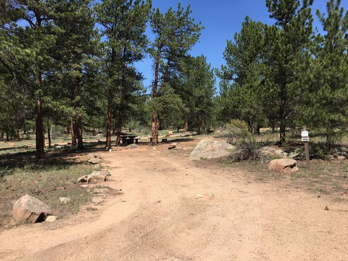 Round Mountain Campground Site #2