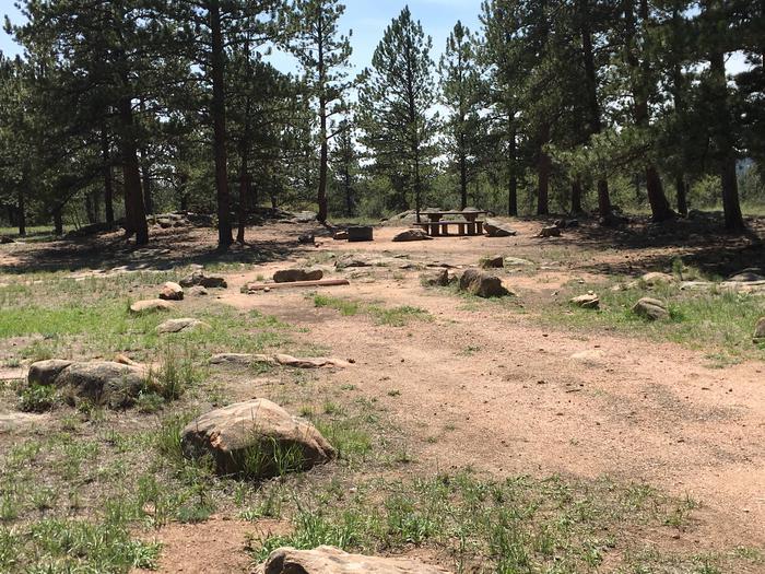 Round Mountain Campground Site #3