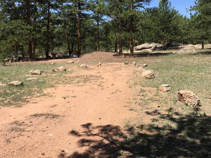 Round Mountain Campground Site #4