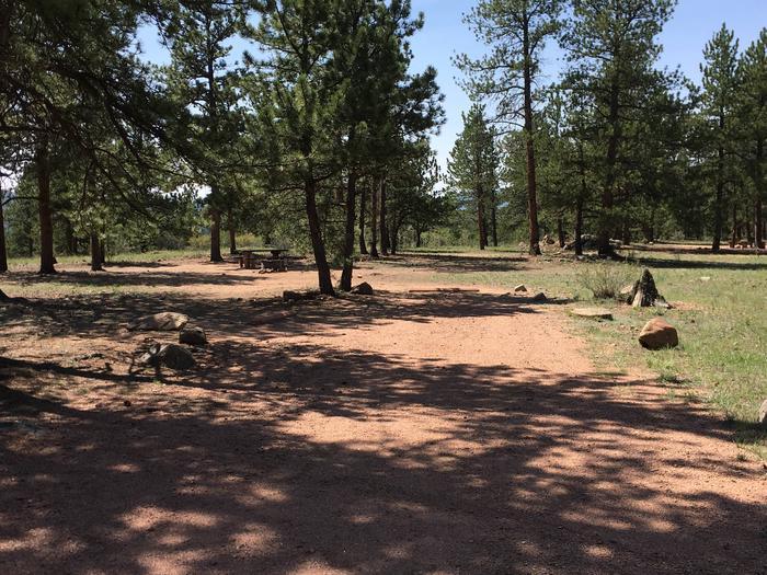 Round Mountain Campground Site #5
