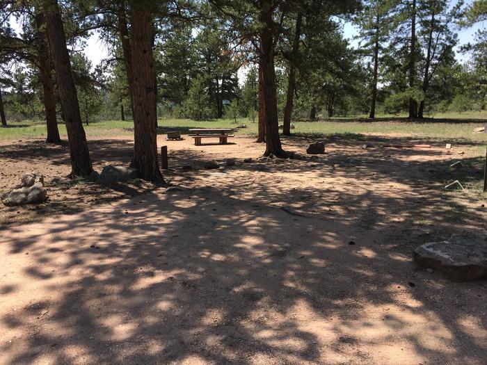 Round Mountain Campground Site #7