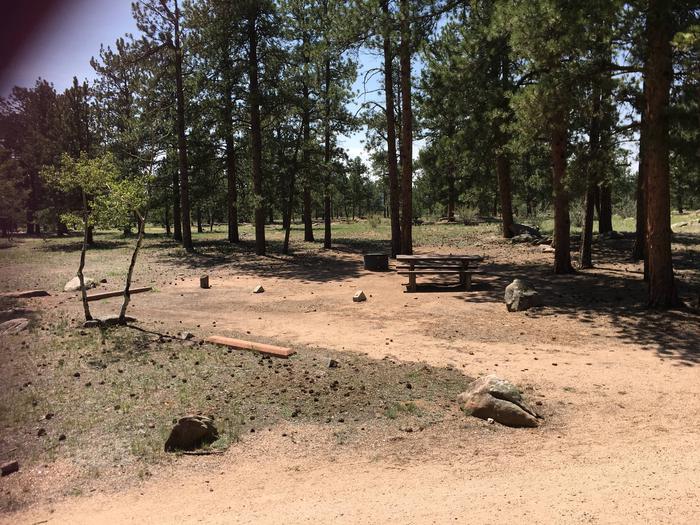 Round Mountain Campground Site #12