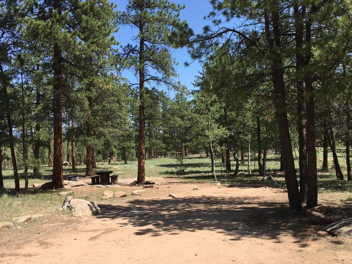 Round Mountain Campground Site #13