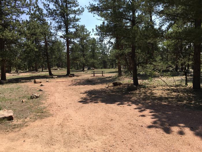 Round Mountain Campground Site #15