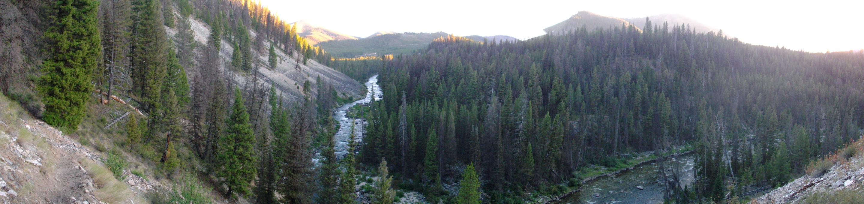 Middle Fork of the Salmon River, taken near Boundary Creek