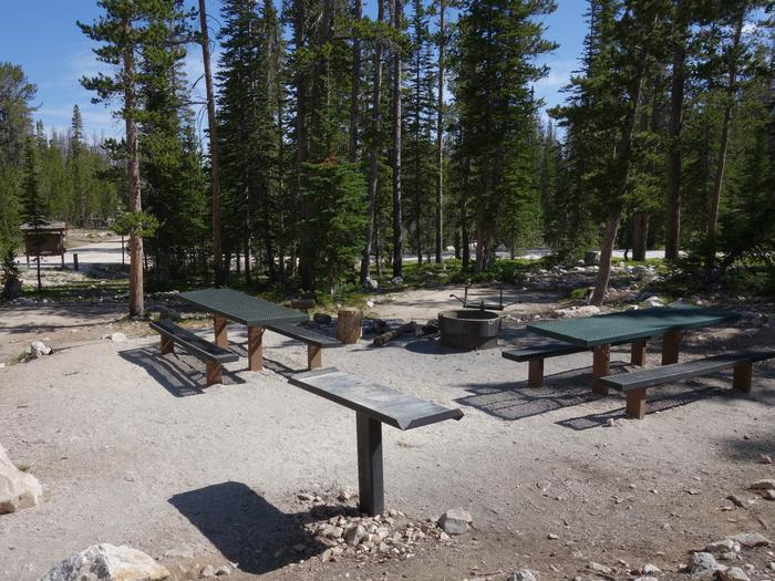 Picnic Tables and Campfire RingsSite 3 (Double Site)