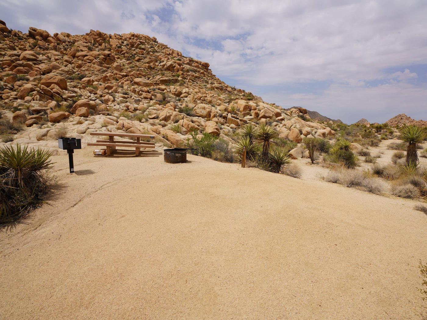 Indian Cove Site 91Another view of campsite