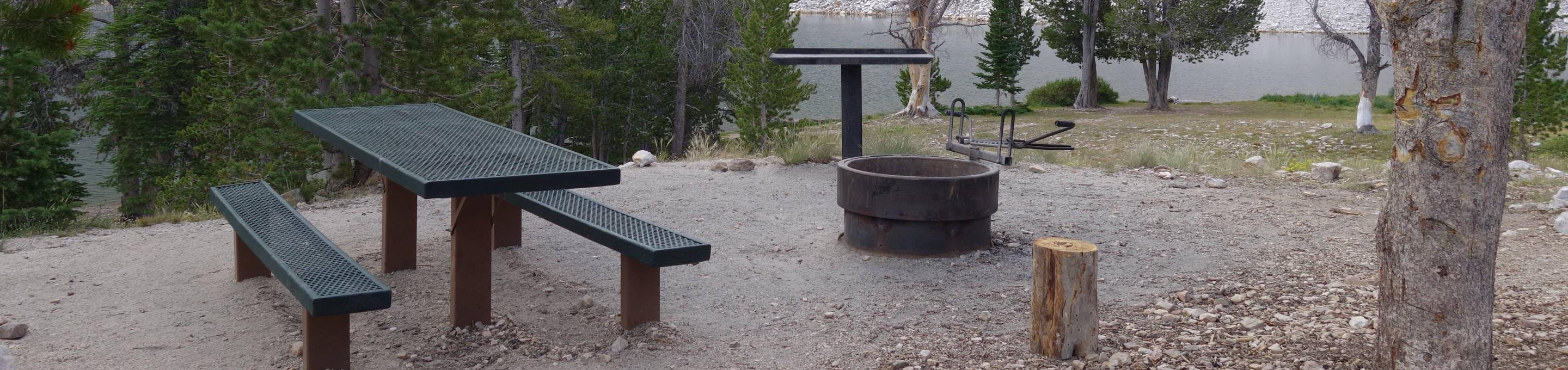 Site 12 (Single Site) - Picnic Table, Campfire Ring and Prep TableSite 12 (Single Site)