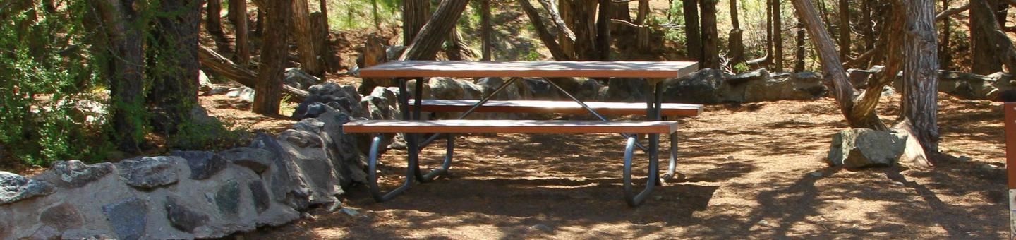 Site #80, Pinon Flats Campground