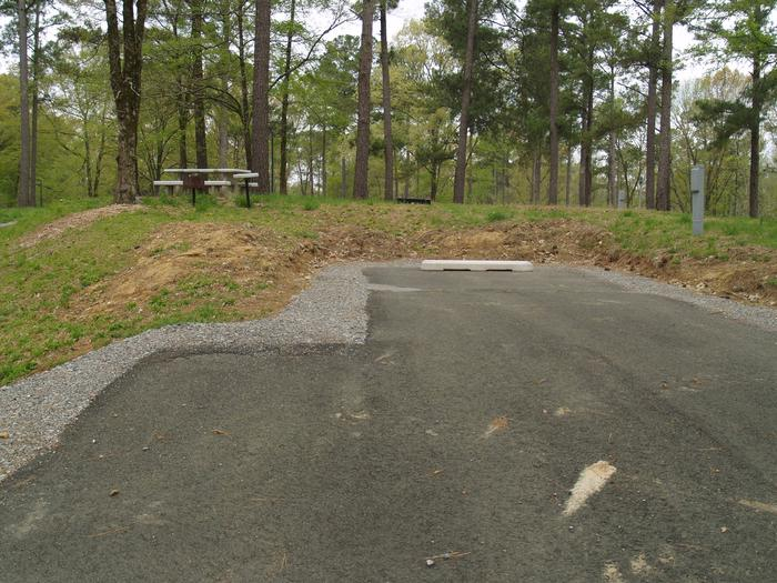 South Abutment Campground Site 8