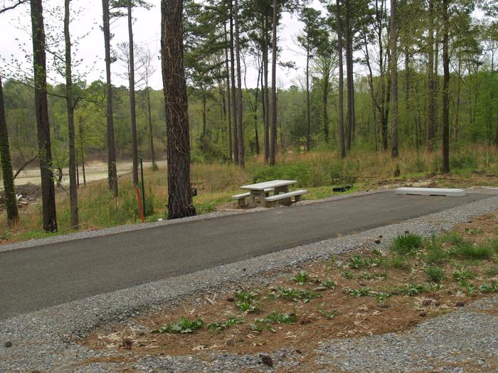 South Abutment Campground Site 9