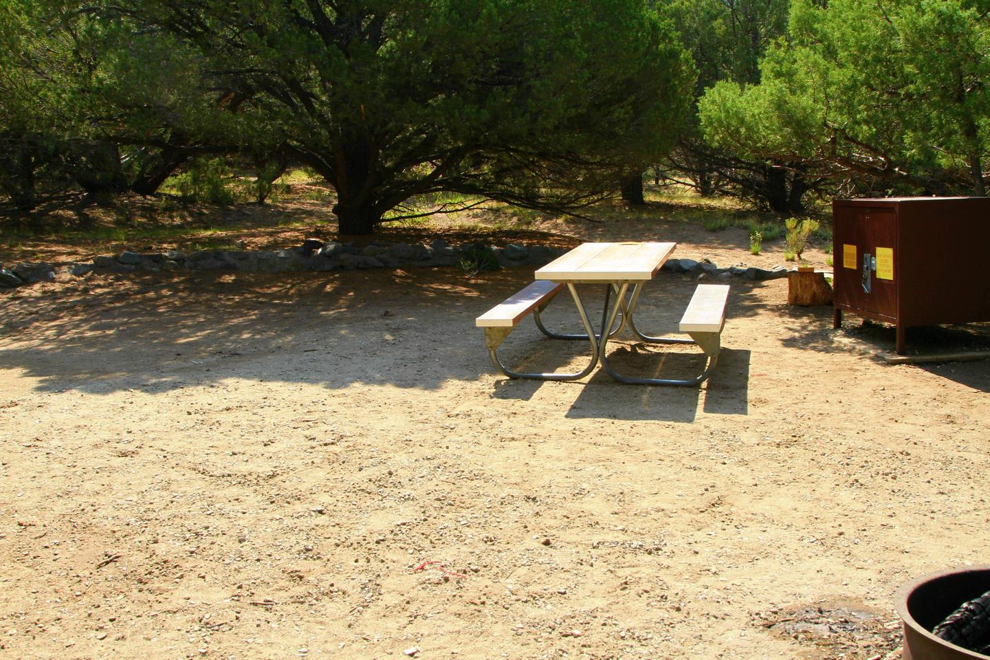Site #52, Pinon Flats Campground