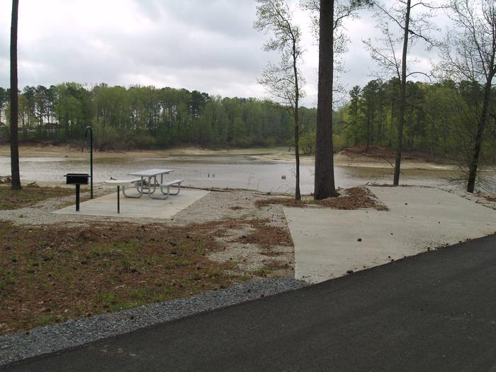 South Abutment Campground Site 20