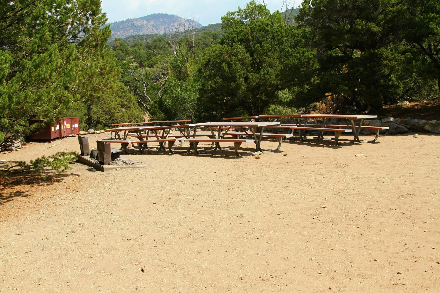 Group Site B, Pinon Flats Campground