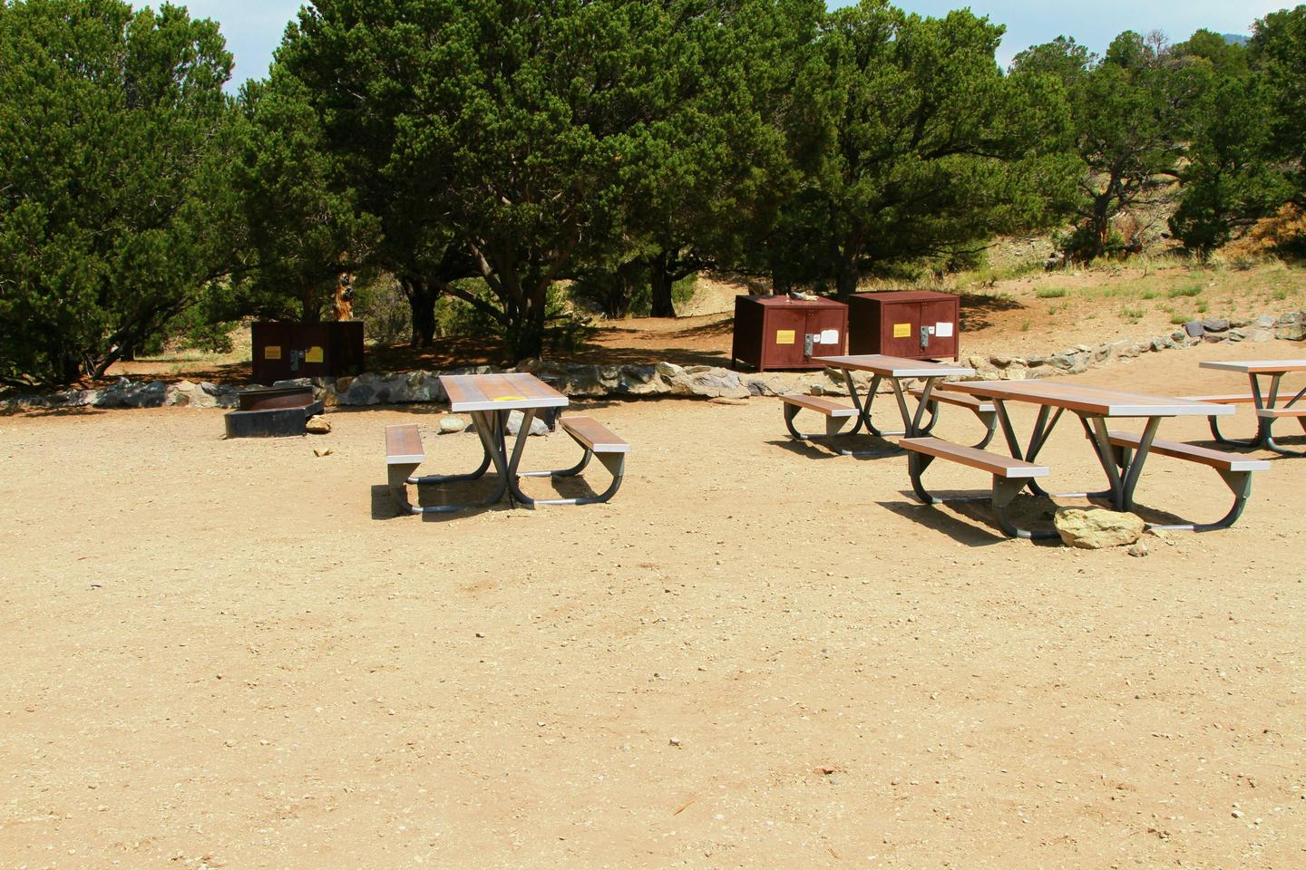 Group Site C, Pinon Flats Campground