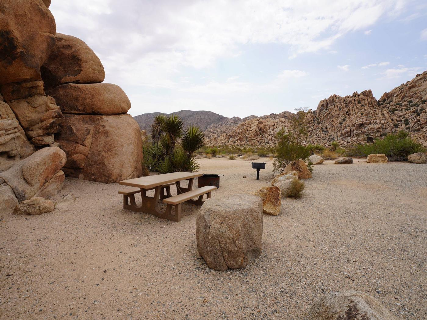 Indian Cove Site 61Another view of campsite