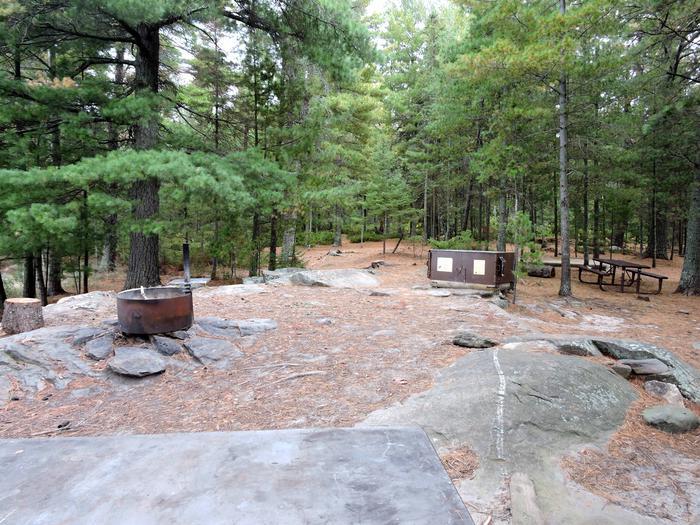 R59 - Finlander IslandView of campsite
