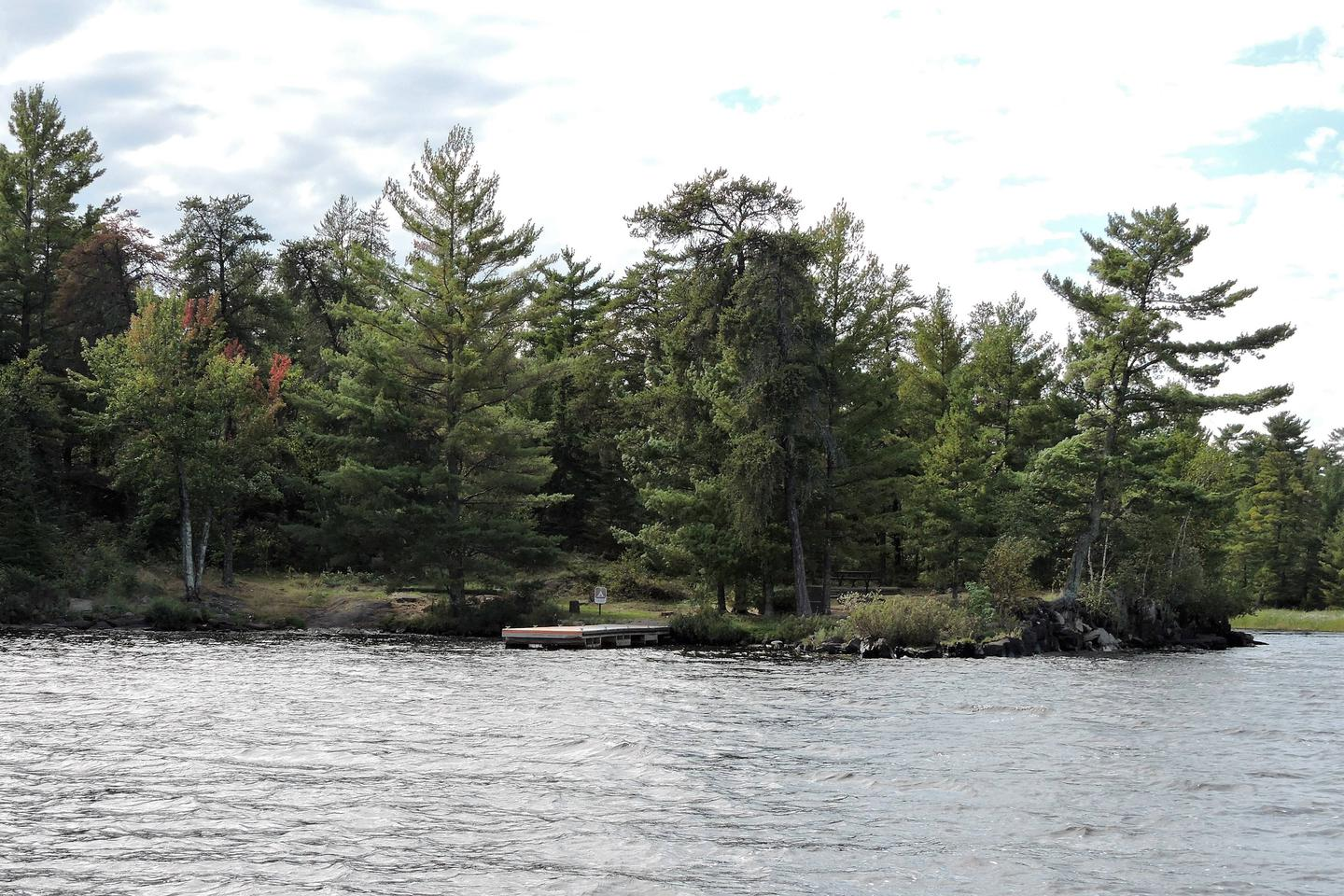 R62 - Krantz PointView of campsite from the water