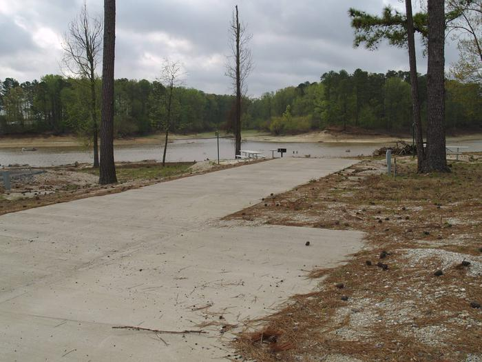 South Abutment Campground Site 23