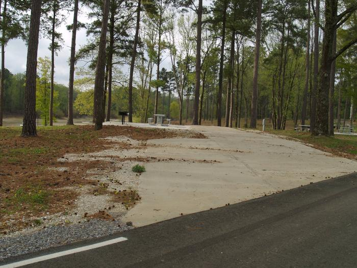 South Abutment Campground Site 33