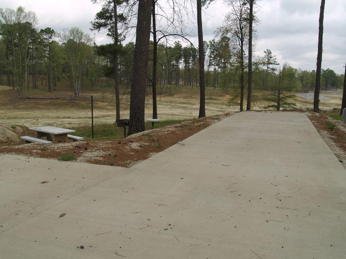 South Abutment Campground Site 36