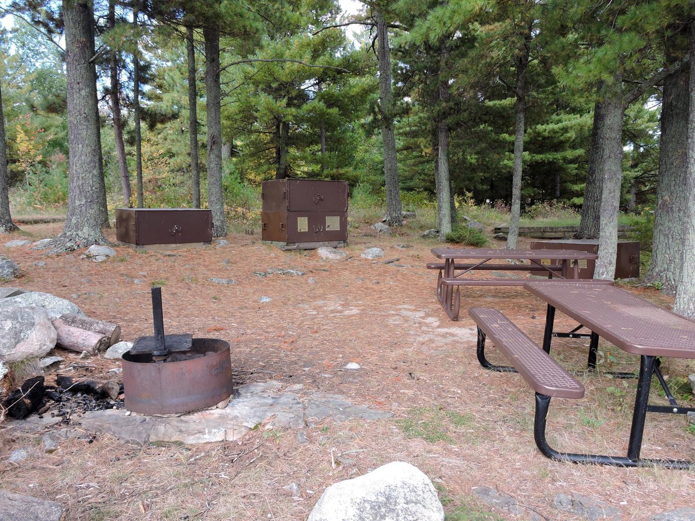 R65 - Reuter CreekView of campsite