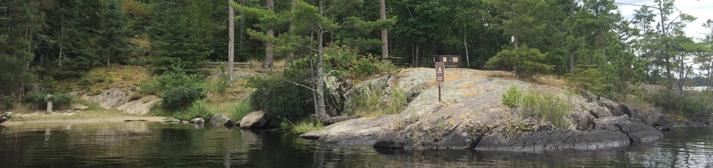 R67 - Stones PointR67 - Stones Point campsite on Rainy Lake
