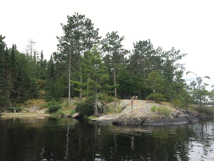 R67 - Stones PointView of campsite from the water