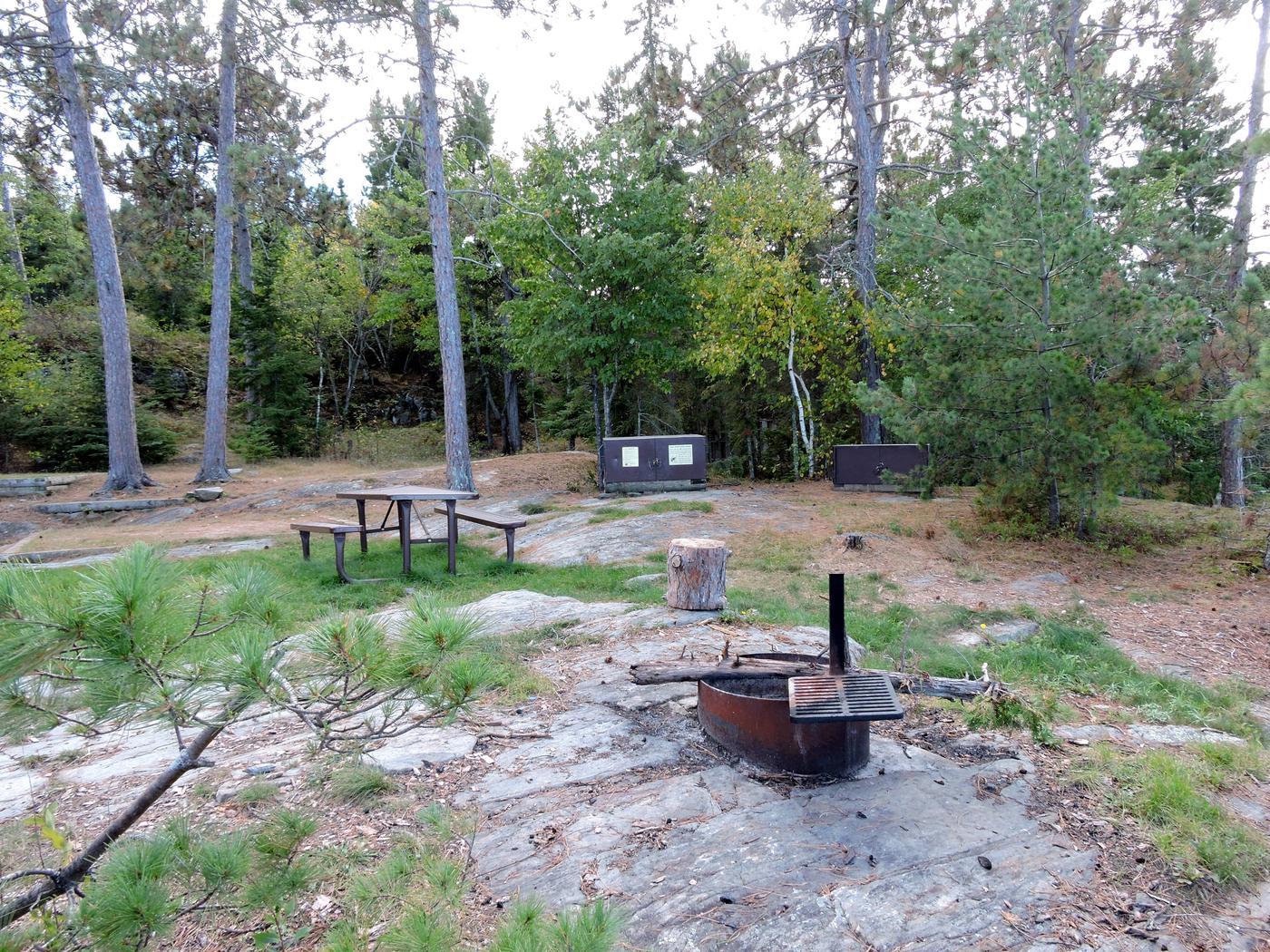 R67 - Stones PointView of campsite