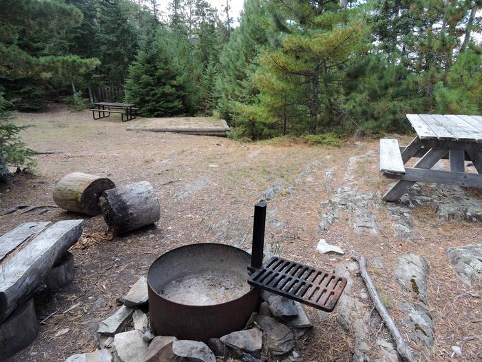 R72 - Rock ShelfView of campsite