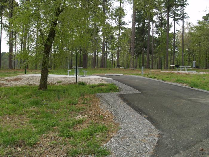 South Abutment Campground Site 39