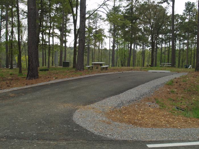 South Abutment Campground Site 43