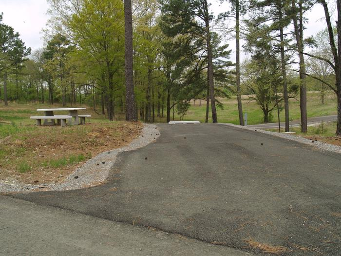 South Abutment Campground Site 47