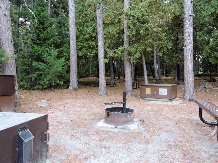 R77 - Three Sisters IslandView of campsite